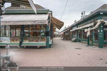 Corona Lokalaugenschein - Wien - Di 17.03.2020 - Geschlossene Lokale am Naschmarkt, Gastronomie geschlossen wegen8