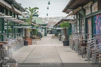Corona Lokalaugenschein - Wien - Di 17.03.2020 - Geschlossene Lokale am Naschmarkt, Gastronomie geschlossen wegen9