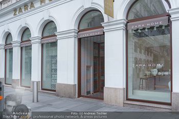 Corona Lokalaugenschein - Wien - Di 17.03.2020 - Geschlossene Lokale und Geschäfte durch Coronavirus, Zara Kärn11