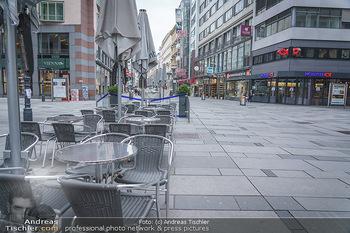 Corona Lokalaugenschein - Wien - Di 17.03.2020 - geschlossene Gastronomie, Lokale wegen Coronavirus in der Kärnt29