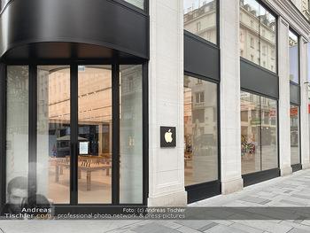 Corona Lokalaugenschein - Wien - Di 17.03.2020 - Apple Store Verkaufsgeschäfte geschlossen Wien Kärntnerstraße61