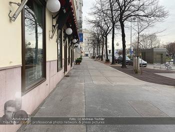 Corona Lokalaugenschein - Wien - Di 17.03.2020 - Cafe Museum geschlossen wegen Coronavirus63
