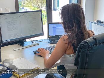 Corona Feature - Wien - Do 19.03.2020 - Homeoffice home Office Heimarbeit Kurzarbeit arbeiten von zuhaus12