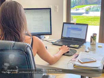 Corona Feature - Wien - Do 19.03.2020 - Homeoffice home Office Heimarbeit Kurzarbeit arbeiten von zuhaus14