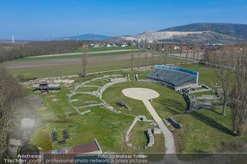 Fototour Großraum Hainburg - Hainburg, Carnuntum - Fr 27.03.2020 - Historische Ausgrabungsstätte Römerzeit Ausgrabungen Amphiethe3