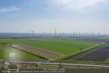 Fototour Großraum Hainburg - Hainburg, Carnuntum - Fr 27.03.2020 - Windräder Windpark Windradpark Stromerzeugung Umwelt Nachhaltig54