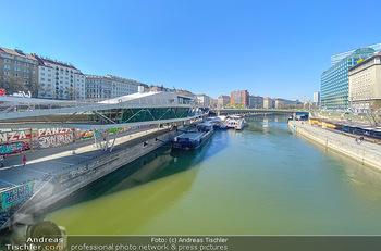 Corona Feature - Wien, NÖ - So 05.04.2020 - Restaurand Motto am Fluss Donaukanal Wien geschlossen Lokale Ges88
