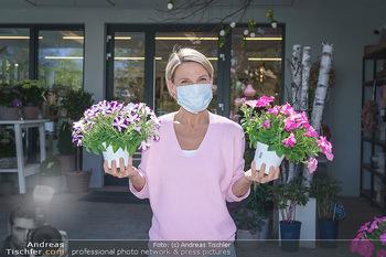 Promis während Corona - Wien - Mi 15.04.2020 - Kristina SPRENGER im Blumenfachgeschäft Gärtnerei Chwala Bad V1