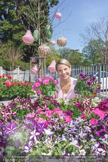 Promis während Corona - Wien - Mi 15.04.2020 - Kristina SPRENGER im Blumenfachgeschäft Gärtnerei Chwala Bad V31