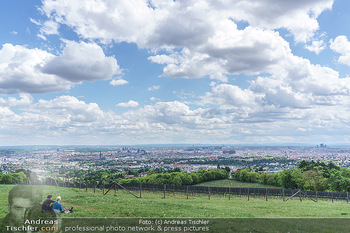 Blick über Wien - Wien - Fr 01.05.2020 - Fernblick über Wien von der Bellevuewiese bei Schönwetter1