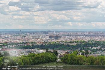 Blick über Wien - Wien - Fr 01.05.2020 - Fernblick über Wien von der Bellevuewiese bei Schönwetter8
