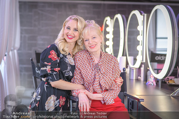 Muttertag mit Silvia Schneider - Cambio Beautycenter, Wien - So 10.05.2020 - Silvia SCHNEIDER mit Mutter Martha SCHNEIDER4