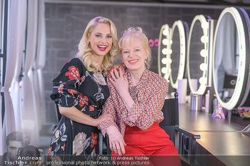 Muttertag mit Silvia Schneider - Cambio Beautycenter, Wien - So 10.05.2020 - Silvia SCHNEIDER mit Mutter Martha SCHNEIDER5