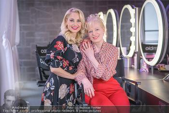 Muttertag mit Silvia Schneider - Cambio Beautycenter, Wien - So 10.05.2020 - Silvia SCHNEIDER mit Mutter Martha SCHNEIDER6