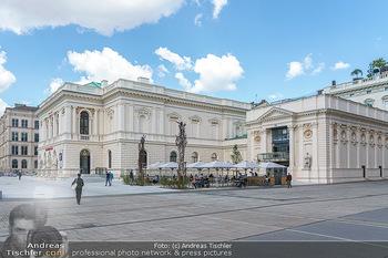 Inoffizielle Eröffnung - Albertina Modern, Wien - Mi 27.05.2020 - Gebäude Architektur Albertina Modern von außen4