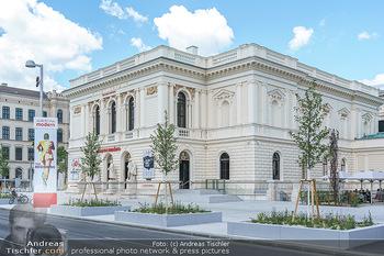 Inoffizielle Eröffnung - Albertina Modern, Wien - Mi 27.05.2020 - Gebäude Architektur Albertina Modern von außen5