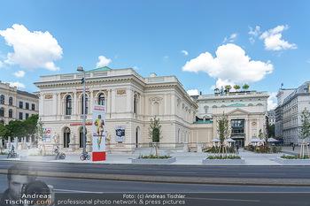 Inoffizielle Eröffnung - Albertina Modern, Wien - Mi 27.05.2020 - Gebäude Architektur Albertina Modern von außen6