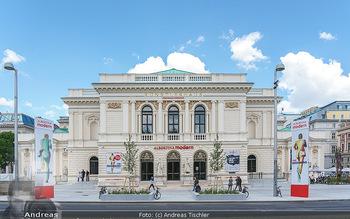 Inoffizielle Eröffnung - Albertina Modern, Wien - Mi 27.05.2020 - Gebäude Architektur Albertina Modern von außen7