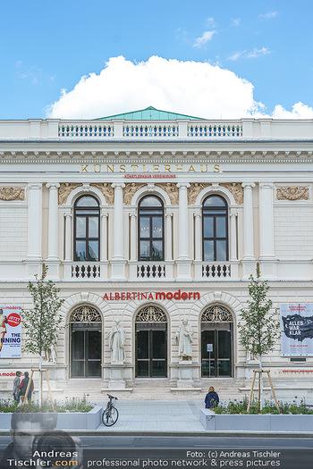 Inoffizielle Eröffnung - Albertina Modern, Wien - Mi 27.05.2020 - Gebäude Architektur Albertina Modern von außen8