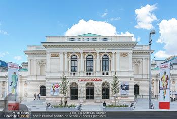 Inoffizielle Eröffnung - Albertina Modern, Wien - Mi 27.05.2020 - Gebäude Architektur Albertina Modern von außen9