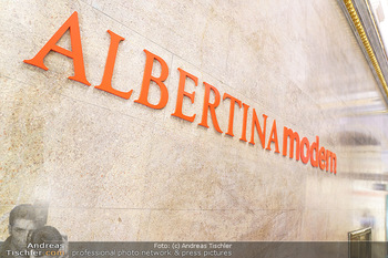 Inoffizielle Eröffnung - Albertina Modern, Wien - Mi 27.05.2020 - Logo Albertina modern12