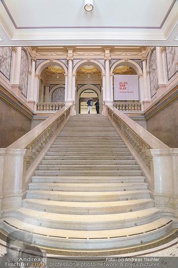 Inoffizielle Eröffnung - Albertina Modern, Wien - Mi 27.05.2020 - Feststiege Treppe Stiegenaufgang17