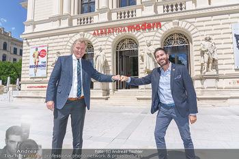 Inoffizielle Eröffnung - Albertina Modern, Wien - Mi 27.05.2020 - Clemens UNTERREINER, Klaus Albrecht SCHRÖDER31
