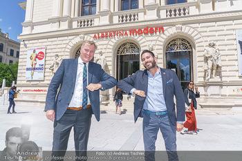 Inoffizielle Eröffnung - Albertina Modern, Wien - Mi 27.05.2020 - Clemens UNTERREINER, Klaus Albrecht SCHRÖDER32
