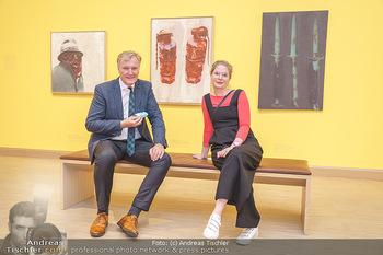 Inoffizielle Eröffnung - Albertina Modern, Wien - Mi 27.05.2020 - Klaus Albrecht SCHRÖDER mit Mitarbeiterin Sarah WULBRANDT42