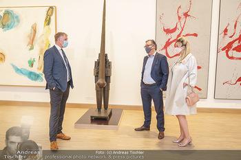 Inoffizielle Eröffnung - Albertina Modern, Wien - Mi 27.05.2020 - Klaus Albrecht SCHRÖDER, Felix und Nina ADLON49