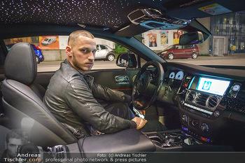 Marko Arnautovic Dreharbeiten - Wien - Mi 27.05.2020 - Marko ARNAUTOVIC in seinem eigenen Bentley Mansory1