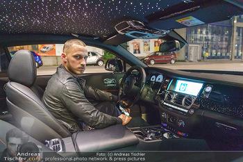Marko Arnautovic Dreharbeiten - Wien - Mi 27.05.2020 - Marko ARNAUTOVIC in seinem eigenen Bentley Mansory6