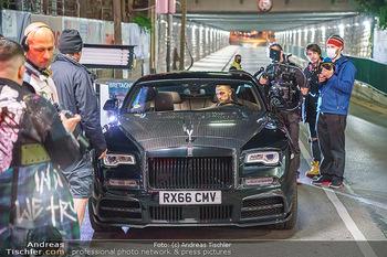 Marko Arnautovic Dreharbeiten - Wien - Mi 27.05.2020 - Marko ARNAUTOVIC am Steuer seines eigenen Bentley Mansory47