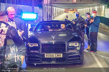 Marko Arnautovic Dreharbeiten - Wien - Mi 27.05.2020 - Marko ARNAUTOVIC am Steuer seines eigenen Bentley Mansory48