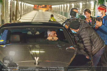 Marko Arnautovic Dreharbeiten - Wien - Mi 27.05.2020 - Marko ARNAUTOVIC am Steuer seines eigenen Bentley Mansory49