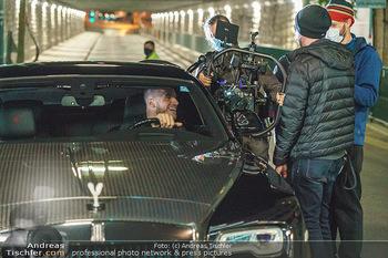 Marko Arnautovic Dreharbeiten - Wien - Mi 27.05.2020 - Marko ARNAUTOVIC am Steuer seines eigenen Bentley Mansory51