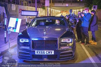 Marko Arnautovic Dreharbeiten - Wien - Mi 27.05.2020 - Marko ARNAUTOVIC am Steuer seines eigenen Bentley Mansory62