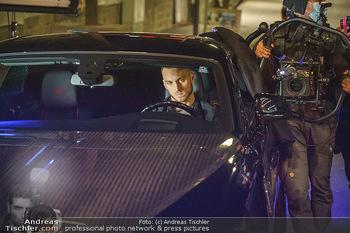 Marko Arnautovic Dreharbeiten - Wien - Mi 27.05.2020 - Marko ARNAUTOVIC am Steuer seines eigenen Bentley Mansory63