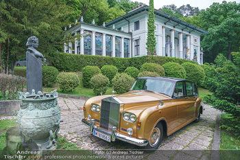 Dinner Empfang im kleinen Rahmen - Fuchs Villa, Wien - Fr 29.05.2020 - Rolls Royce vor Villa (Fuchsvilla Fuchsmuseum Wien)1