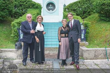 Dinner Empfang im kleinen Rahmen - Fuchs Villa, Wien - Fr 29.05.2020 - Kristina SPRENGER, Gerald GERSTBAUER, Johanna MIKL-LEITNER mit E2