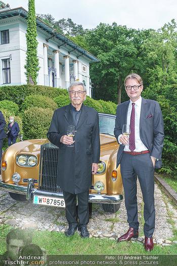 Dinner Empfang im kleinen Rahmen - Fuchs Villa, Wien - Fr 29.05.2020 - Hermann PÜTTMER, Gerald GERSTBAUER12