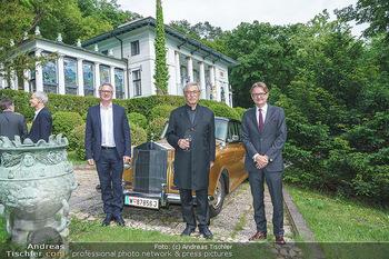 Dinner Empfang im kleinen Rahmen - Fuchs Villa, Wien - Fr 29.05.2020 - Hermann PÜTTMER, Gerald GERSTBAUER, Tillmann FUCHS15