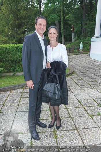 Dinner Empfang im kleinen Rahmen - Fuchs Villa, Wien - Fr 29.05.2020 - Philipp HELLETZGRUBER, Shirin MILANI40