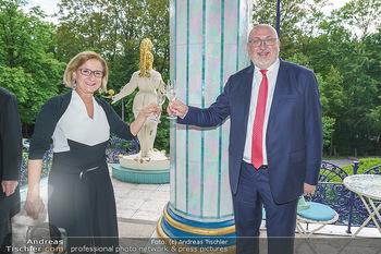 Dinner Empfang im kleinen Rahmen - Fuchs Villa, Wien - Fr 29.05.2020 - Johanna MIKL-LEITNER, Andreas MATTHÄ43