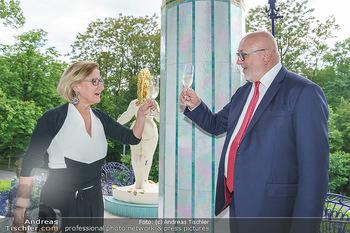 Dinner Empfang im kleinen Rahmen - Fuchs Villa, Wien - Fr 29.05.2020 - Johanna MIKL-LEITNER, Andreas MATTHÄ44