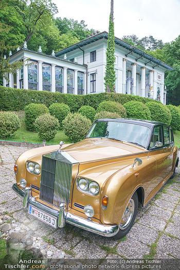 Dinner Empfang im kleinen Rahmen - Fuchs Villa, Wien - Fr 29.05.2020 - Rolls Royce vor Villa (Fuchsvilla Fuchsmuseum Wien)52