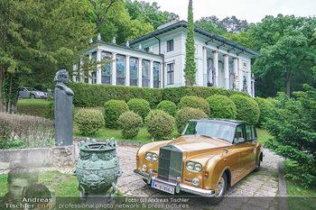 Dinner Empfang im kleinen Rahmen - Fuchs Villa, Wien - Fr 29.05.2020 - Rolls Royce vor Villa (Fuchsvilla Fuchsmuseum Wien)53