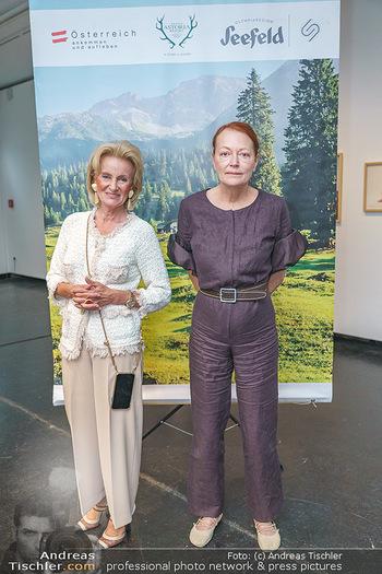Seefeld Künstler PK - BA Kunstforum, Wien - Di 02.06.2020 - Elisabeth GÜRTLER, Ingried BRUGGER16