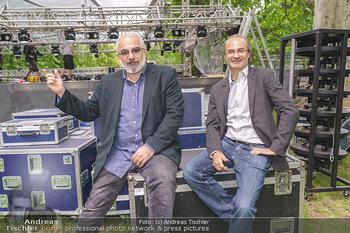 Theater im Park PK - Belvedere Park, Wien - Di 02.06.2020 - Michael NIAVARANI, Georg HOANZL13