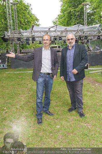 Theater im Park PK - Belvedere Park, Wien - Di 02.06.2020 - Michael NIAVARANI, Georg HOANZL15